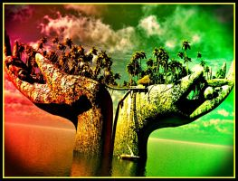 .trees In My Hands by YOKOKY