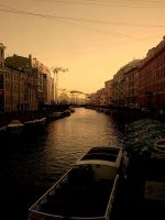 Neva River. St. Petersburg by Sem-master