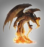 Magma Dragon unleashed by JasonEngle