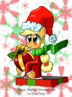 Merry hearth warming eve to everypony by davidvega123
