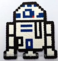 R2D2 Perler (Star Wars) by LittleHouseCrafting