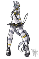 Tribal Zecora by avante92