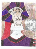 Frollo Grieving for His Mother by FroShaDar