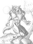 WereWolf Growl by RudyVasquez