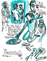 Narcissus by TheLeporidCastle
