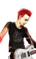 Red Matt and THAT SHIRT by vladimir-the-hamster