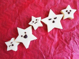 white chocolate stars by chococat830