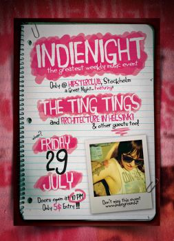 Indie Poster Template Vol. 6 by IndieGround