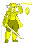 SU-OC-Yellow Quartz (Remade) by Jchanel404
