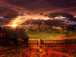 mountain house by cannphoto