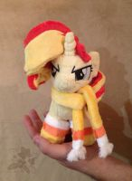Chibi Sunset Shimmer by HollyIvyDesigns