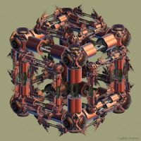 T1 3D Inverse Tree Hexahedron 325 by GraphicLia