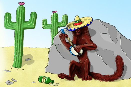 Theron in Mexico by RiverRaven