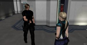 I'm Leon S. Kennedy, nice to meet you by Mister-Valentine