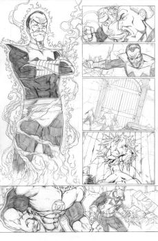 Green Lantern Sample page 4 by sketchpimp