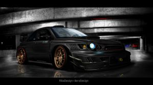 Impreza Nero d'inferno 1 by RibaDesign