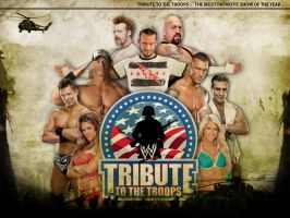 Tribute to the Troops 2011 Wallpaper by Chirantha