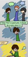Lost joke by Mythical-Human