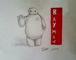 Baymax by MiddyLPS