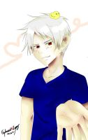 Zhe AWESOME Gilbert (Prussia) und Gilbird by XxLuvDarkMusicxX