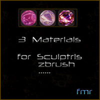 fmr - 3 Sculptris Materials by fmr0