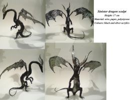 Sinister dragon by MissPoe