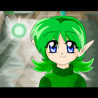 Ocarina of time flash-Saria by coycoy
