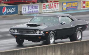 Challenger getting down the track by finhead4ever