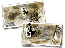 LL6_business cards by ZeROgraphic