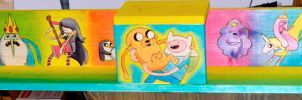 Adventure Time Wood Chinchilla Shelf by bapity88