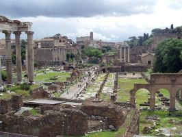 The Ancient Roman Forum by Egyptars