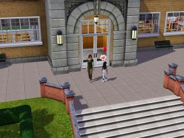 Sims 3 - I'm getting tired after school by Magic-Kristina-KW