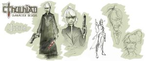 Judith - Character Sheet 001 by hesir
