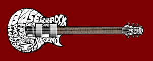 Typography: Guitar by xXLOLDAXx