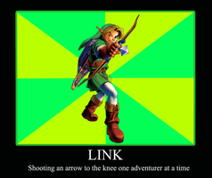 Link's Skyrim Demotivation by digital-strike