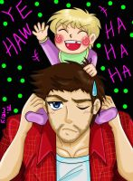 chris's father day by bubblegum-girl