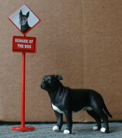 Staffordshire Bull Terrier by Riabhach
