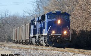 Savatrans ES44AC's 1982 and 1986 lead SS2 coal by EternalFlame1891