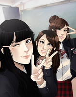 Selca by Hyeoii