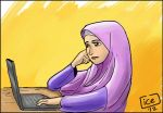 another tudung girls by ujangzero