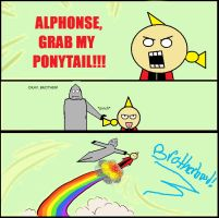 Fullmetal Alchemist: Grab My Ponytail by 621Chopsuey