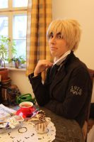 APH England Cosplay by PinkFluffyKitchicorn