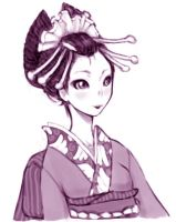 casual Oiran by madtoast