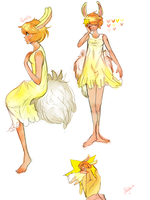 Twinkle :Character Design: by Bippie