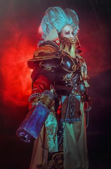 Warhammer 40 000 Cosplay - Inquisitor Ordo Heretic by alberti