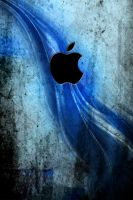 Blue Streak Apple by NickJones5