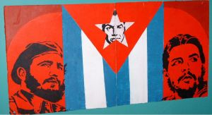 Fidel, Che, y Big Brother by EdwardAbbieyHoffman