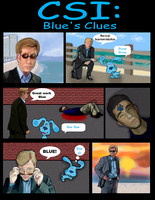 CSI: Blue's Clues by camaroracer