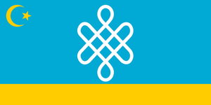 Alternate Flag of Kazakhstan by Nederbird