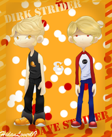 Dirk and Dave Chibis by TamaCorp